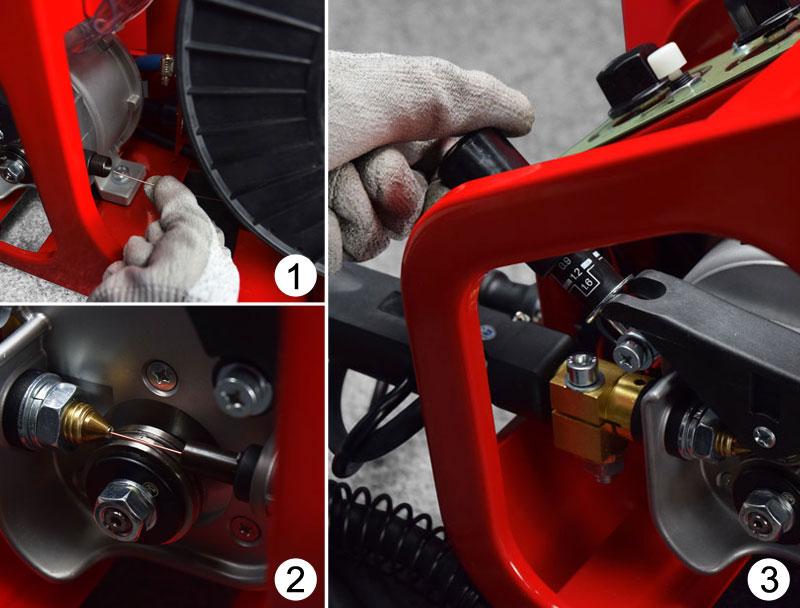 Jual-Mesin-Las-Listrik-Industri-Industrial-Welding-Machine-Daiden-MIG-350-Cara-Memasukkan-dan-memasang-kawat-las