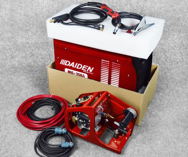 Jual-Mesin-Las-Listrik-Industri-Industrial-Welding-Machine-Daiden-MIG-350-Packaging-Dalam