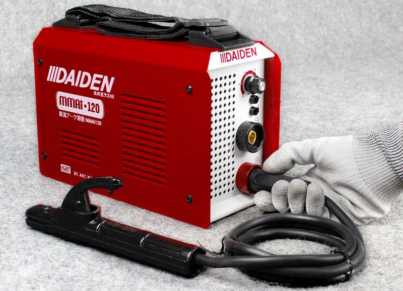 Jual-Mesin-Las-Listrik-Welding-Machine-Daiden-MMai-120-Cara-Memasang-Kabel-las-Earth-Clamp-Plus