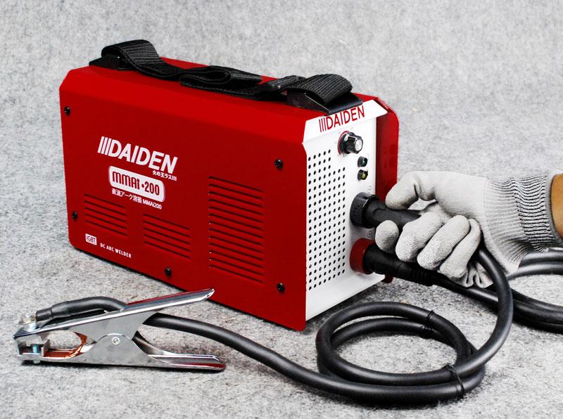 Jual-Mesin-Las-Listrik-Welding-Machine-Daiden-MMai-200-Cara-Memasang-Earth-Clamp-Minus