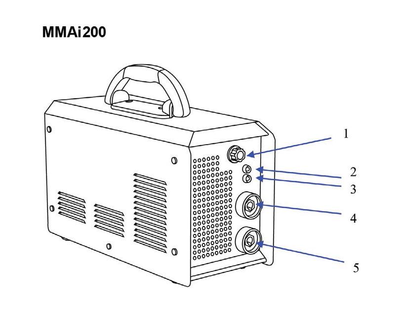 Jual-Mesin-Las-Listrik-Welding-Machine-Daiden-MMai-200-Part