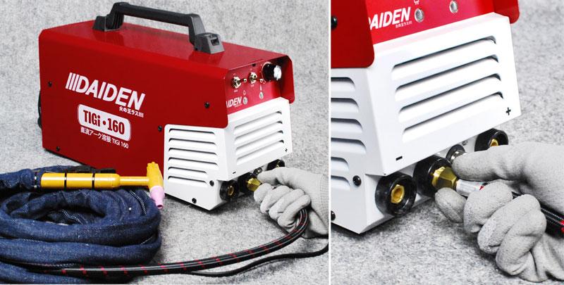 Cara Pemasangan Mesin Las Argon Daiden TIGi 160