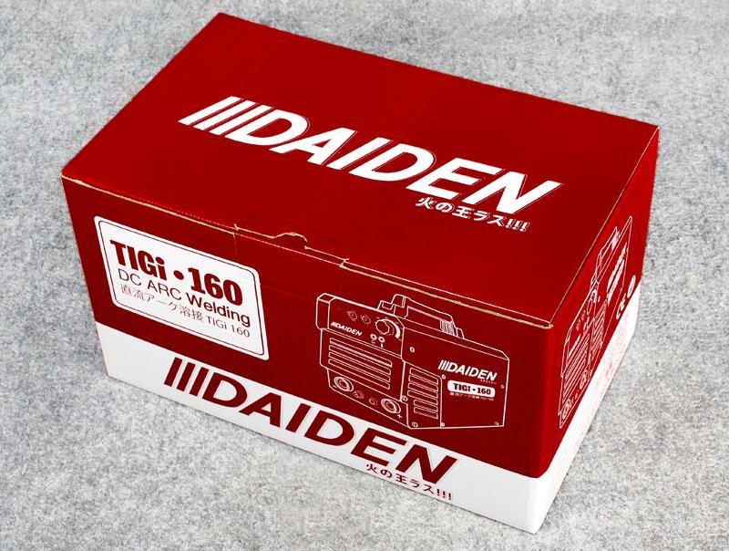 Packaging Mesin Las Argon Daiden TIGi 160