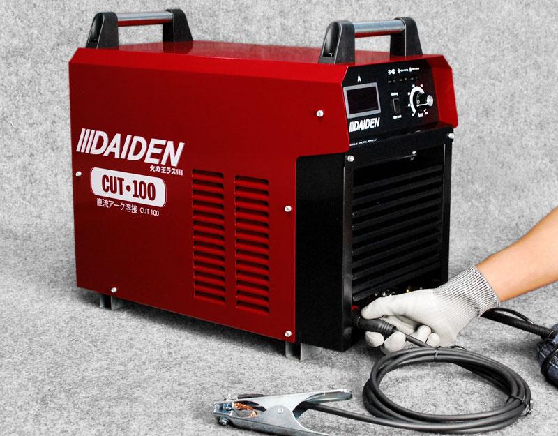 Jual-Mesin-Las-Potong-Cutting-Machine-Plasma-Cutter-Daiden-CUT-100-Cara-Memasang-Kabel-Earth-Clamp-Minus