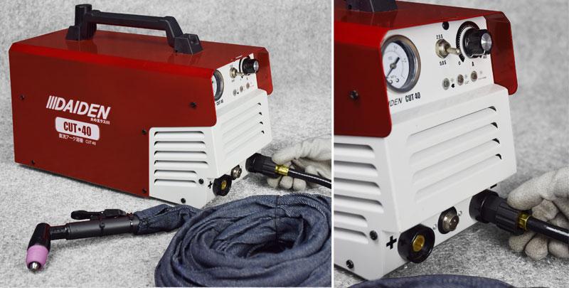 Jual-Mesin-Las-Potong-Cutting-Machine-Plasma-Cutter-Daiden-CUT-40-Cara-Memasang-Cut-Handle-Torch-dengan-pelindung