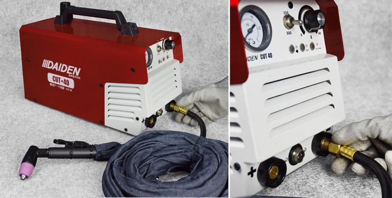 Jual-Mesin-Las-Potong-Cutting-Machine-Plasma-Cutter-Daiden-CUT-40-Cara-Memasang-Cut-Handle-Torch