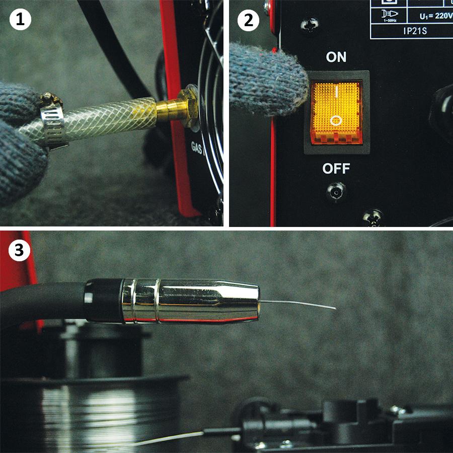 cara-pemasangan-kawat-las-Daiden-Migi-130